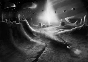 Wh40K: Squat Asteroid by StugMeister