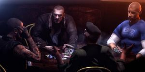Poker game by Deniszizen