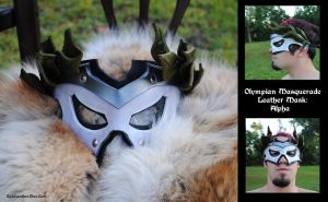Olympian Masquerade Mask A by Epic-Leather