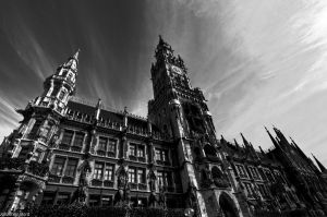 New Town Hall, Munich by JBord
