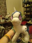 plush Vinyl Scratch by quetzalgirl