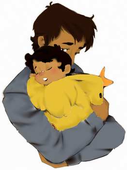 Mike And Chica by Karisele