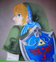 Twilight Princess Link Pastel by DarthJader11