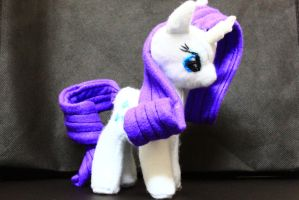 Rarity Plushie by nekokevin