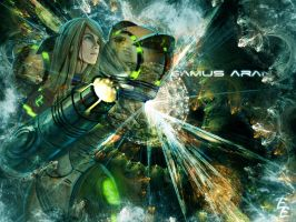Samus Wallpaper by elescochi