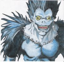 Ryuk by throughtherain67