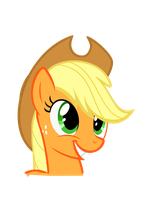 Applejack Smile Request by Sgt-Squid