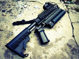 Grenade launcher by Profail