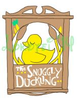 Graphic Design - Snuggly Duckling Sign - watermark by Lokotei