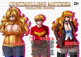 COMMISSION : Controlling Mother Character Profile by jadenkaiba
