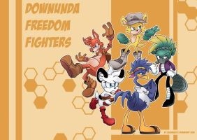 Downunda Freedom Fighters by zazaKUN011