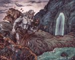 Azog Outside of Moria by AngelaRizza