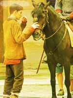 Colin and horse again... by MagicalPictureMaker