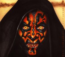 Darth Maul (markers) by meganparkes