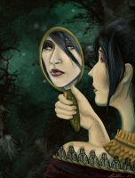 The Golden Mirror by MaevesChild