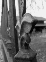 The broken fence by thaddman
