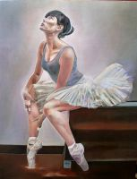 Ballet Dancer by ARTISTS99