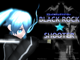 Black Rock Shooter by NintendoSensei77