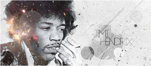Sign Jimi Hendrix by ROH2X