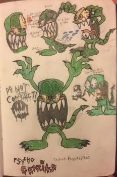 Psycho Cazziks concept by ZakhrieZtoons