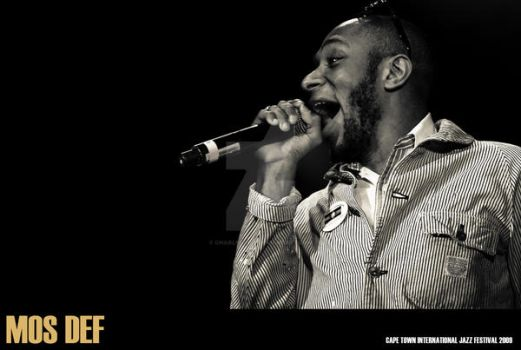CT Jazz Fest Mos Def 3 by charlfourie