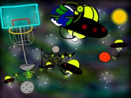 Solar System Sports by MegaDISASTER