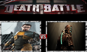 Gordon Freeman vs. Isaac Clarke by ScarecrowsMainFan