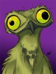 The Potoo Bird by AndrewDickman
