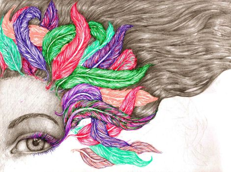 FEATHERS by Miss-Ami
