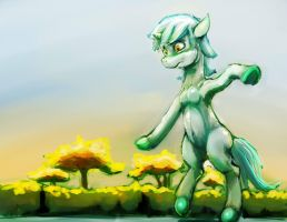 Lyra Walks by sharpieboss