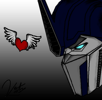 Optimus Prime-GA-Colored by KristenitaPrime7