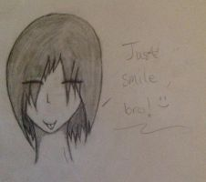Just smile, bro:) by DrCrazyWolf