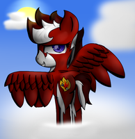 Flaming Arrow .:Within the Sky:. by xXElectric-HybridXx