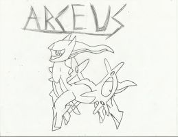 Arceus by extreme810
