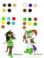 Ref: Coralina and Aeris by light-peace