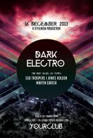 Dark Electro Flyer by styleWish