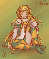 Palette Challenge: Vocaloid Lily #17 by SileceneAlethea