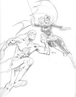 Carmine Infantino Tribute by guinnessyde