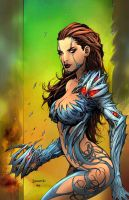 Witchblade by FickleFlame