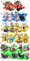 PKMNation: Clutch Dump Part 3 [OPEN] by garbagekeeper
