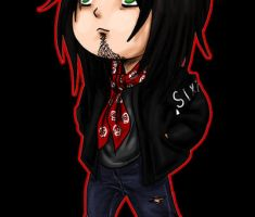 Nikki Sixx Chibi - Animated by SavanasArt