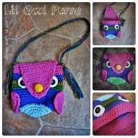 Lil Owl Purse by the-carolyn-michelle