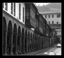 Arches of Cusco by Boofunk