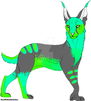 Caracal auction CLOSED by HazeAdopts