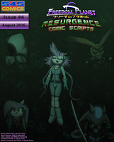 Freedom Planet Resurgence Issue 4 Comic Script PDF by CCI545