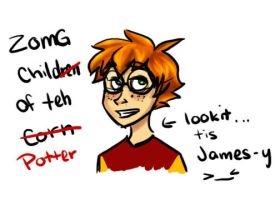 teh spawn of potter XD by eightbreeze