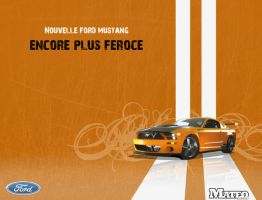 Ford Mustang by mateo69800
