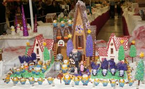 despicable me 2 gingerbread house by hellboy12345