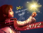 ExoroDesigns New Year 2012 Card 01 by ExoroDesigns