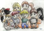 Vegthro Chibis by Lucca-Majere